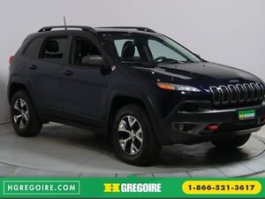 2016 Jeep Cherokee TRAILHAWK 4WD CUIR TOIT PANO NAVIGATION MAGS