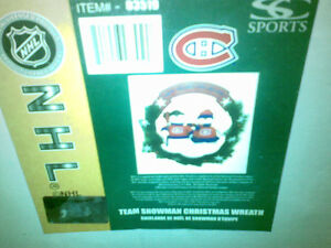 Montreal Canadiens wreath new