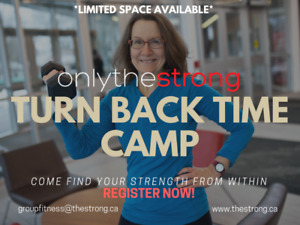 OVER 50 - Group Fitness BootCamp - Certified - Experienced