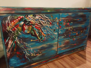 Affordable Custom Painted Dressers and Other Furniture