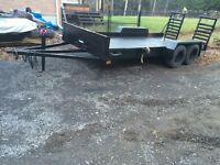 Selling my 16x6.5 tandem axel utility trailer! Obo
