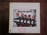 BEACH BOYS WOW GREAT CONCERT VINYL LP