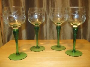 Wine glasses, dishes