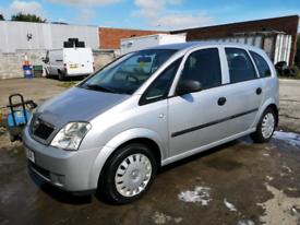 Vauxhall Meriva 1.6 Life MPV.. 04 Plate