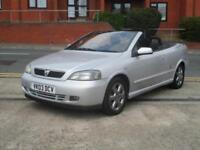 03 Vauxhall Astra 2.2i 16v CABRIOLET