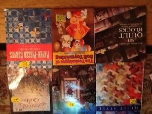 QUILTING BOOKS/MAGs/Doll Clothes/Stuffed toys/Crafts West Island Greater Montréal image 3