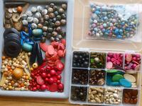 Bijouterie: lot BOIS, varié Jewelry: WOOD, various