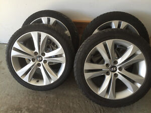 Custom Hyundai Rims and Tires
