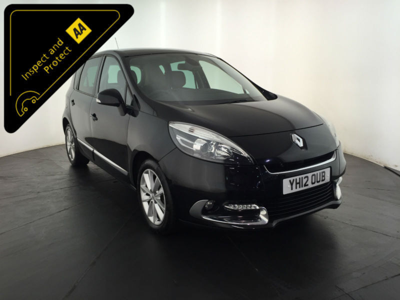 2012 RENAULT SCENIC DYNAMIQUE TOMTOM DCI 1 OWNER SERVICE HISTORY FINANCE PX
