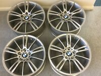 "Refurbished 18""BMW MV3 Alloys with Tyres"