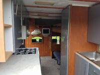 LDV Convoy 2.5 TD 5 Birth Luton Campervan/Motorhome Spares or Repairs Damaged