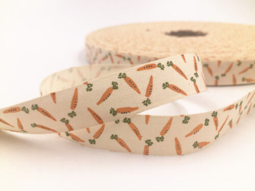 "5-10y 5//8/"" Printed Cotton Ribbon merry chirstmas Gift Present DIY Sewing Craft"