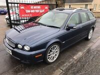 2008 JAGUAR X TYPE SE DIESEL, 1 YEAR MOT, WARRANTY, NOT MONDEO PASSAT AUDI BMW MERCEDES