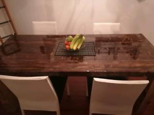 Table de cuisine de luxe !