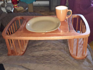 Wooden bed Breakfast table-new price!