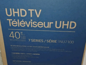 Samsung tv 4k séries nu7100 smart tv
