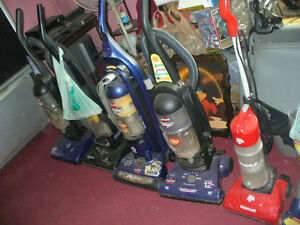 Vacuum cleaners from 10.00 too 35.00 used various models