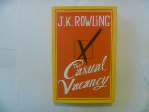J.K. ROWLING - The Casual Vacancy - 1st Edition Hardcover