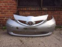 Toyota ago front bumper 2005-2006-2007-2008- £15