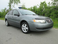 SATURN ION 2006 - 107,000KM - SUNROOF - CERTIFIED - 5 SPEED