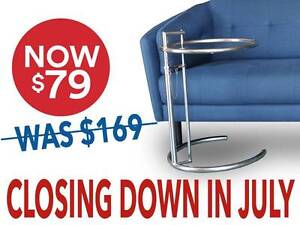 SALE: Replica Eileen Gray Side Table - Adjustable Height Osborne Park Stirling Area Preview