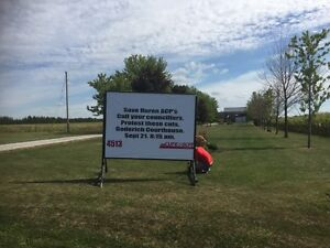 Portable Sign Rentals Low Priced & Done Right! London Ontario image 9