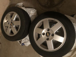 Chevy BF Goodrich Advantage tires and rims