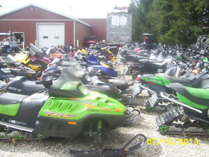 USED SNOWMOBILE PARTS - Recycling and Salvage