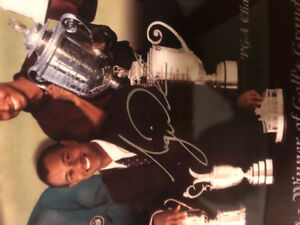 Tiger Woods Signed Autographed Picture COA Champion