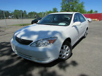 65000 KM 2003 Toyota Camry LE ANTIROUILLE