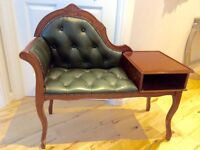 Chesterfield designed telephone table