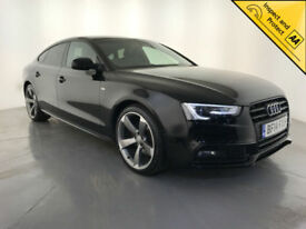 2014 AUDI A5 S LINE BLACK EDITION TDI DIESEL 1 OWNER SERVICE HISTORY FINANCE PX