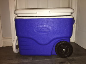 Coleman cooler with wheels