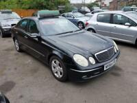 MERCEDES E CLASS E270 CDI AVANTGARDE Black Manual Diesel, 2004