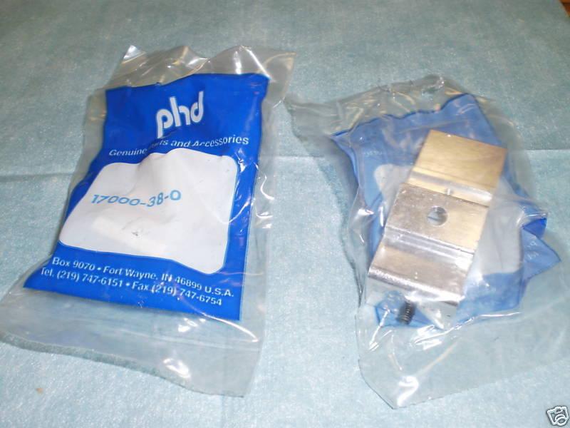Lot of PHD Pneumatics Model: 17000-38-0 Brackets, 5 <