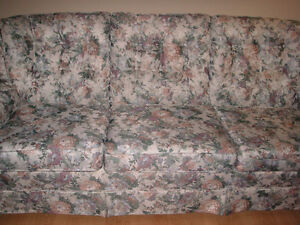 Nice couch for sale. Comfortable and no broken springs, rips