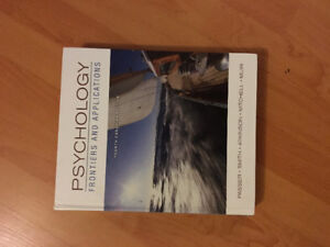 Textbook: Psychology: Frontiers and Applications