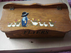 FLYERS BOX OR MAIL BOX