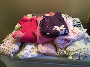 Large Lot of Baby Girl Clothes - ALL SIZES