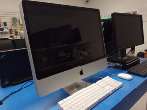 "home/business desktop and imac 24"" sale with 3 month warranty"