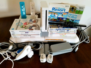Wii Console Game Bundle