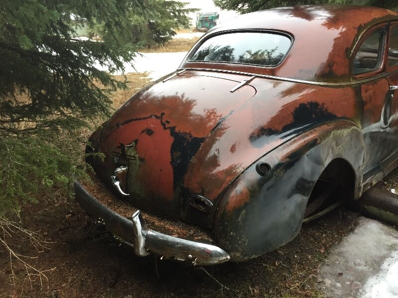 1946 1948 Pontiac And Chevy Car Parts Classic Cars Red