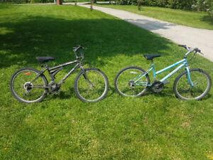 """Mountian bikes  24"""" tires"""