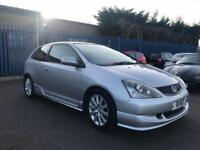 2004 Honda Civic 1.6i VTEC ( 17in Alloys ) Sport - 12 MONTHS MOT - 9 SERVICES