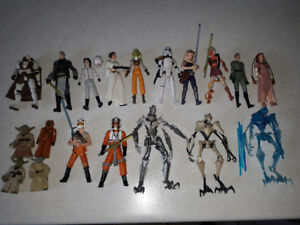 Star War loose figures