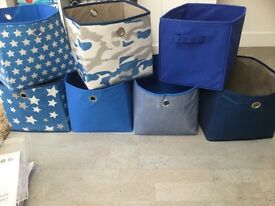 Storage material boxes x 7