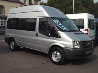 FORD TRANSIT 11 SEATER WHEELCHAIR ACCESSIBLE MINIBUS COIF DIGITAL TACHOGRAPH PSV
