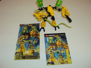 Hero Factory: Meltdown (7148), includes booklet