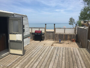 Beachfront 29' Trailer at Wasaga Beach
