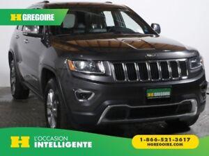 2016 Jeep Grand Cherokee Limited 4X4 AUTO A/C GR ÉLECT CAMÉRA DE